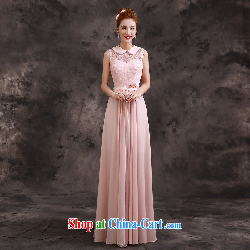 A good service is 2015 new summer bride's sister's bridesmaid dress dress long evening dress bridesmaid C load 03 - a collar 2 XL