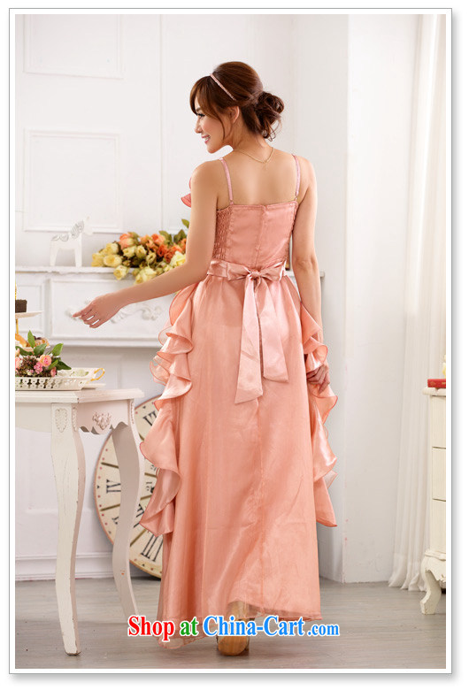 Constitution, 2015 New Evening Beautiful Clothes Show My Store skirts thick sister the princess skirt, sexy GALLUS DRESS long evening dress XL dresses pink large XL 3 160 - 180 Jack pictures, price, brand platters! Elections are good character, the national distribution, so why buy now enjoy more preferential! Health