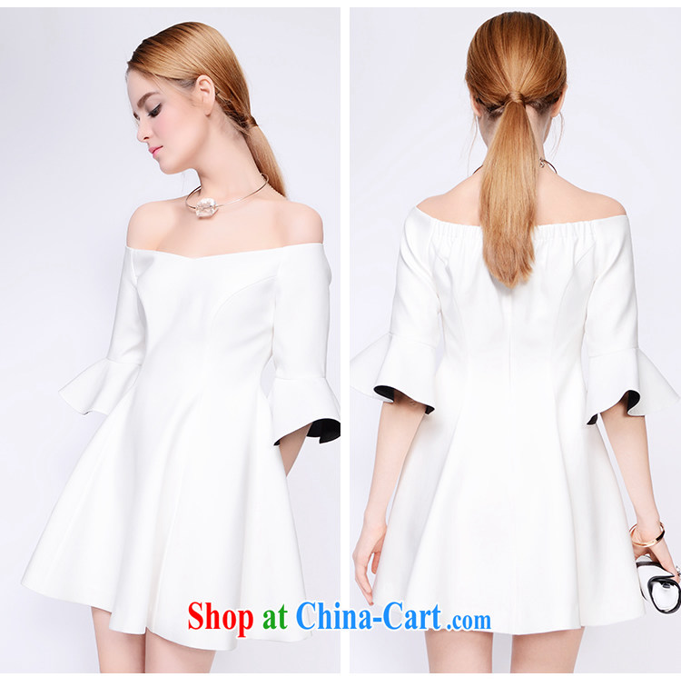 The Mona Lisa Newman 2015 spring new European site a field for Dress skirt the waist dresses white L pictures, price, brand platters! Elections are good character, the national distribution, so why buy now enjoy more preferential! Health