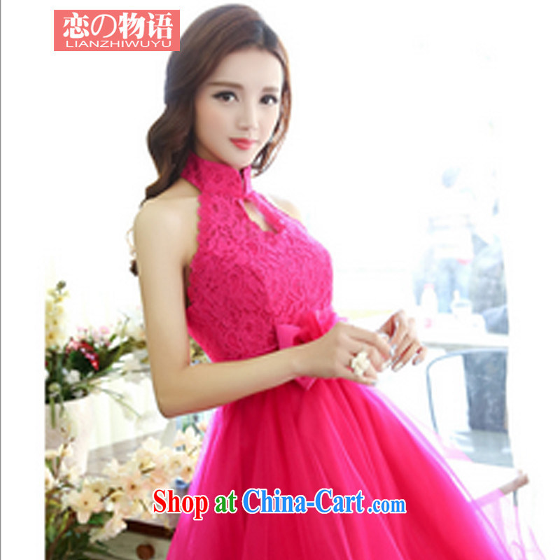 land property protection, 2015 spring dress Evening Dress women fashion beauty wedding dresses of red XL