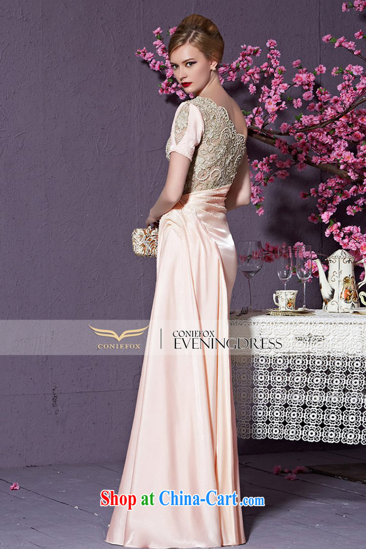 Creative Fox 2015 new high-end custom dress pink single shoulder bridesmaid dress long high-waist dress evening dress wedding dress toast serving 82,225 custom, does not support return pictures, price, brand platters! Elections are good character, the national distribution, so why buy now enjoy more preferential! Health
