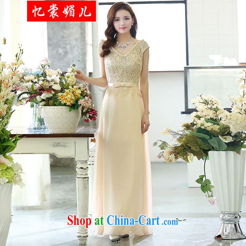 Recalling that Advisory Committee's 2015 spring new sexy stylish wedding dress Evening Dress 1514 white XXL