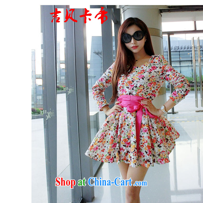 The Bekaa in Dili 0486 #sexy sweet floral flowers behind the lumbar shaggy dress dresses red are code