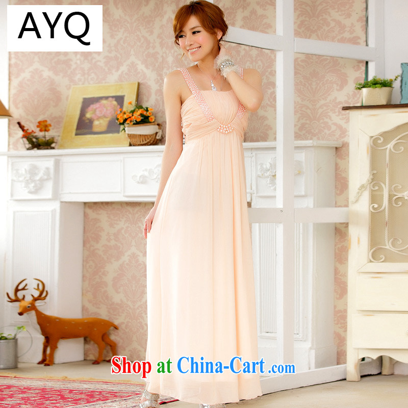 AIDS has been Qi high-end aura drug eyes scarf to manually staple-ju long, snow-woven dresses dresses 9601 A - 1 pink XXXL