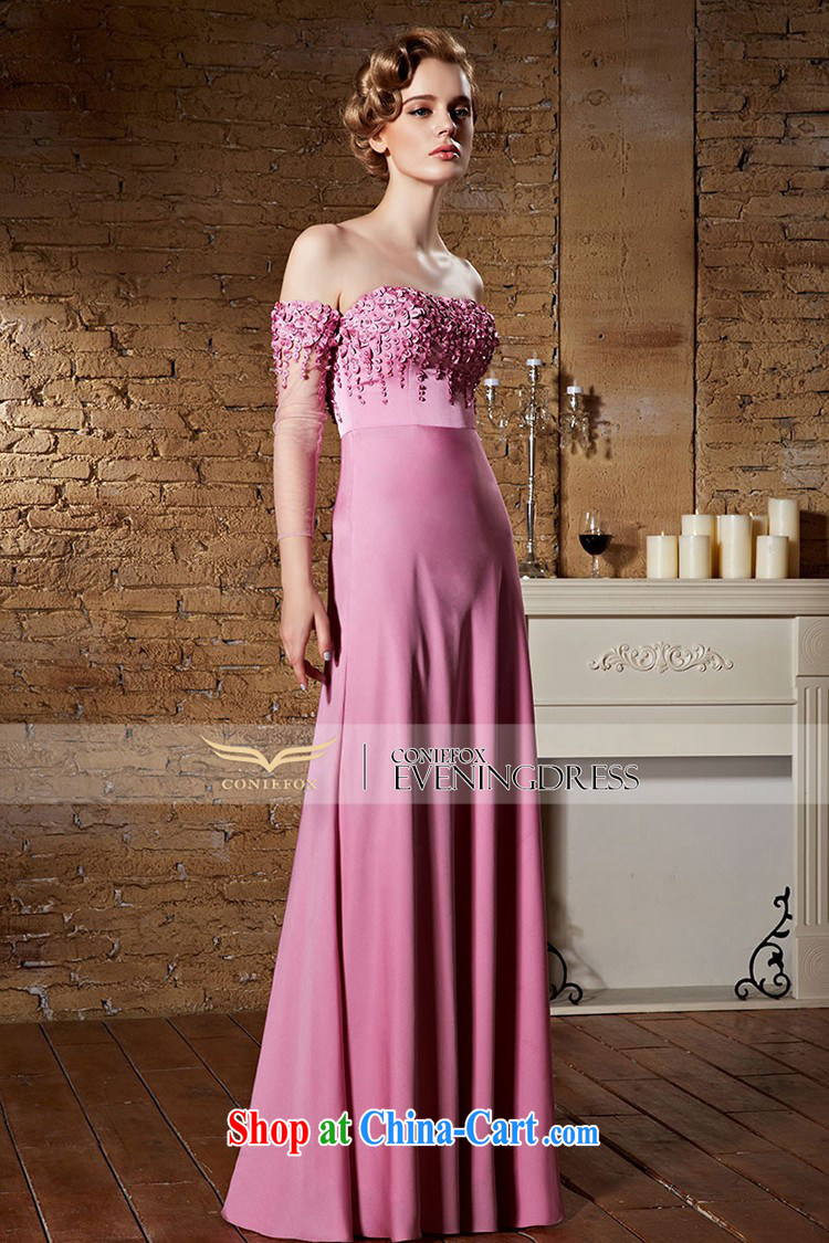 Creative Fox dress pink field shoulder bridal wedding dress the dress long bridesmaid dress bows. Stylish wedding elegant long skirt 30,863 pink XXL pictures, price, brand platters! Elections are good character, the national distribution, so why buy now enjoy more preferential! Health