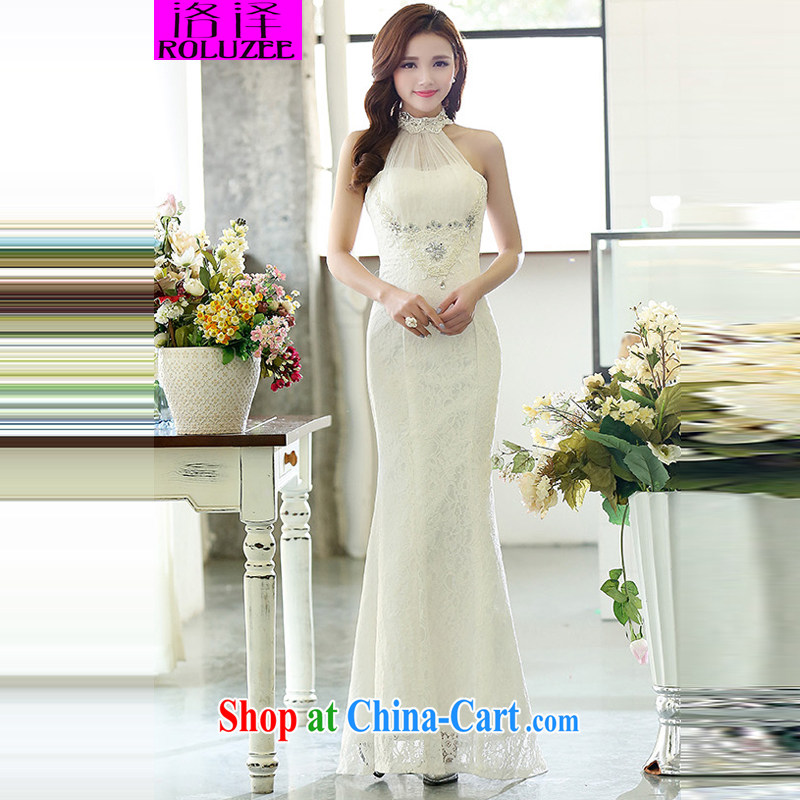 Los Angeles 2015 spring new elegant wedding dresses bare shoulders beauty dresses skirts dress white XL