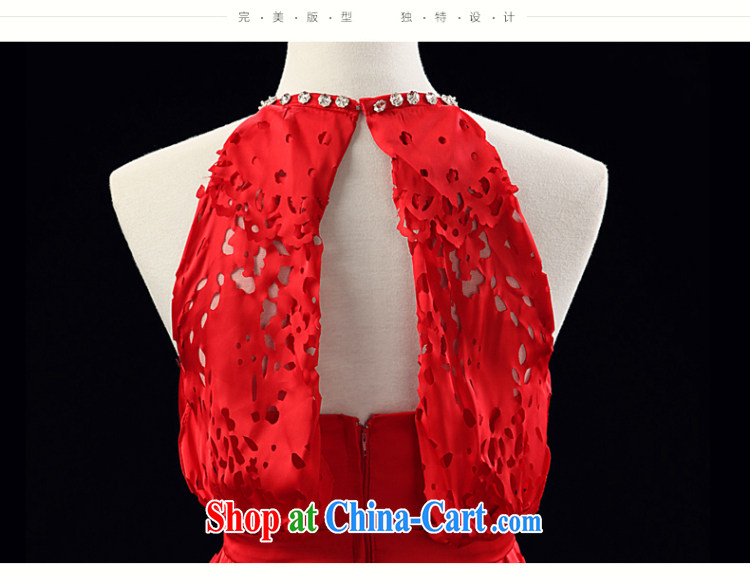 Love, Ms Audrey EU Yuet-mee, RobinIvy) dress new 2015 spring and summer is also a sleeveless Openwork long evening dress bows dress L 13,794 red XL pictures, price, brand platters! Elections are good character, the national distribution, so why buy now enjoy more preferential! Health