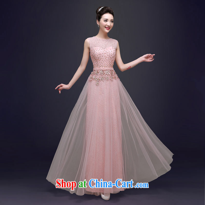 A good service is 2015 spring bridal toast clothing wedding dress wedding bridesmaid clothing, long evening dress long 2XL