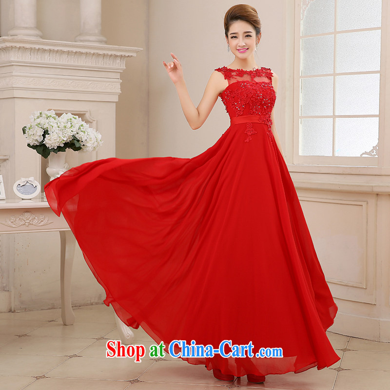 wedding dresses new summer spring red wedding toast Service Bridal field shoulder lace with snow woven large skirt with the Code Red xxl