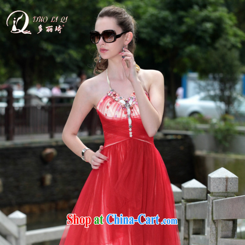 More LAI Ki 2014, Ki dress new trade dress in Europe Evening Dress red XXL