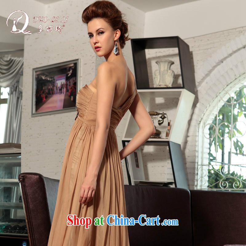 More LAI Ki ball dress, shoulder-length dresses, wedding dresses tea color XXL, Li Qi (Doris dress), and, on-line shopping