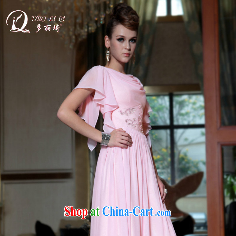 More LAI Ki Europe Evening Dress strap with stylish evening dress short-also with evening dress hotel dress pink XXL