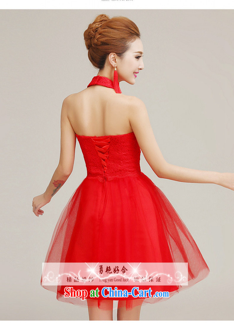 Yong-yan and 2015 new bride toast clothing dress spring and summer is also red long marriage, Uganda small dress shaggy dress red long M pictures, price, brand platters! Elections are good character, the national distribution, so why buy now enjoy more preferential! Health