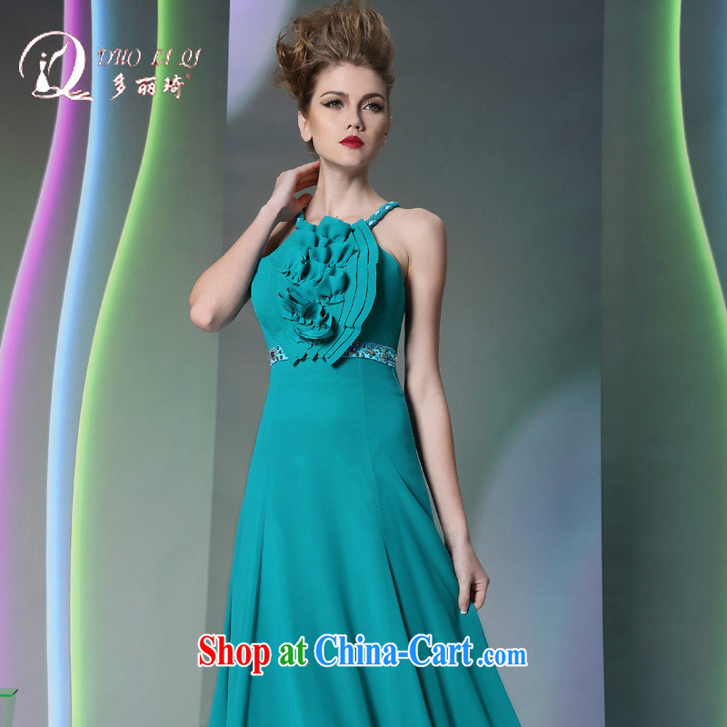 More LAI Ki Fox in Europe and blue dress, Qi dress dark blue XXL