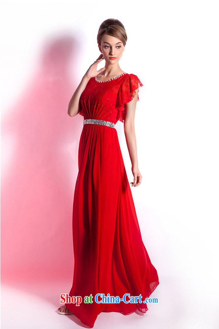 Beijing, Hong Kong, 2015 as soon as possible new red wedding dress bridal toast serving long, large, Evening Banquet Cultivating Female summer long skirt red XXL pictures, price, brand platters! Elections are good character, the national distribution, so why buy now enjoy more preferential! Health