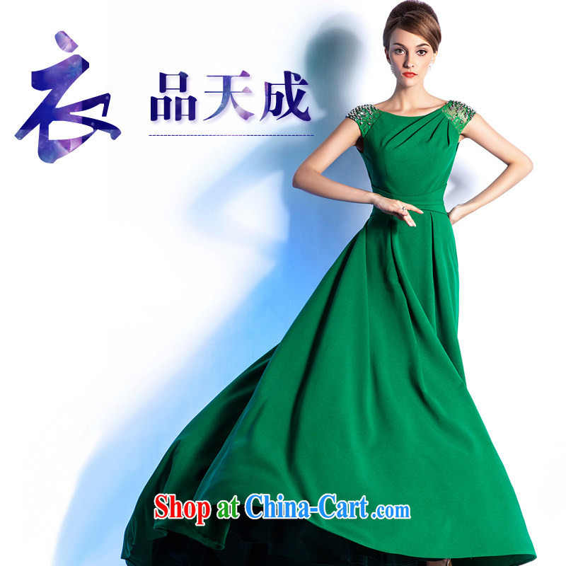 The Champs Elysees, as soon as possible, in Europe and America 2015 show, custom dress long dinner Annual Reception stylish beauty moderator Evening Dress girls' high-end custom 3 Wai contact customer service is not returned.