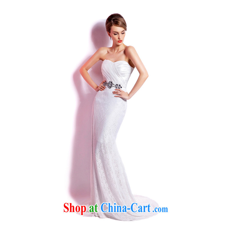 Elections, Hong Kong's Health 2015 spring and summer new crowsfoot erase chest evening dress bridal wedding dresses banquet hosted long evening dress reception XXL