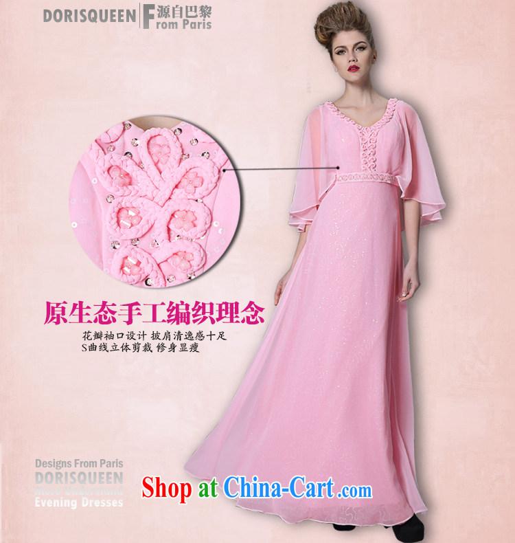 More LAI Ki delicate pink flower shawl dress bridesmaid dress 2014 ...