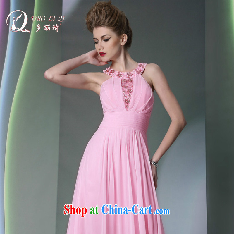 More LAI Ki pink bridesmaid dress is also dinner dress adult sisters served with beautiful pink S