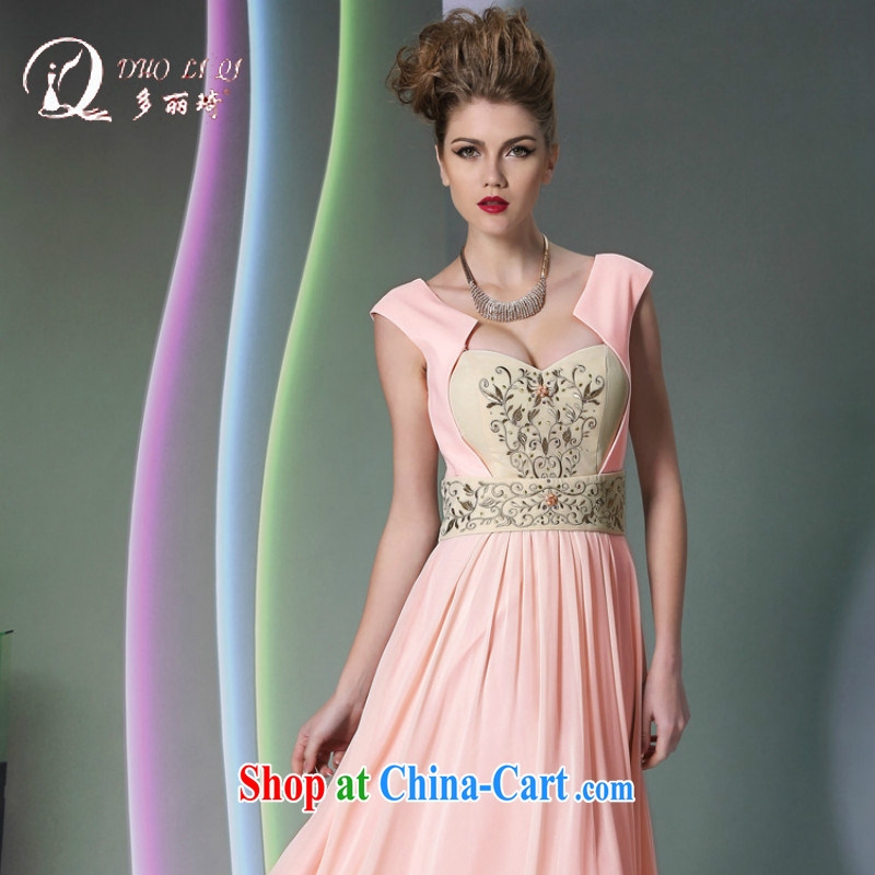 More LAI Ki pink sexy Evening Dress wedding dresses bridesmaid serving hot pink XXL