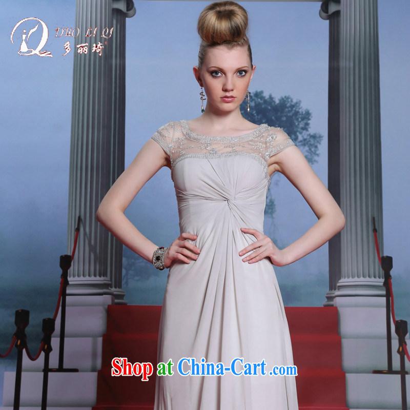More LAI Ki Internet and Evening Dress elegant-fall Evening Dress mother adult dress the dress code white XL