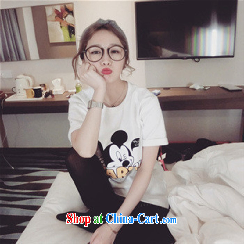 Spring new Korean version 100 a simple two-color original single arm cuff thick Mitch T white are code