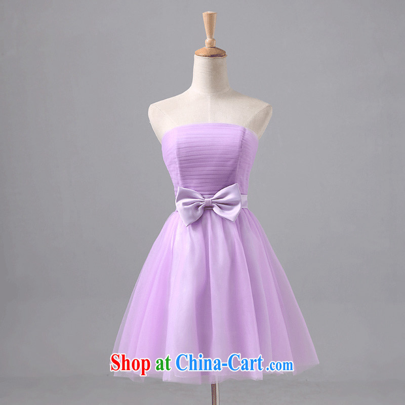 According to Lin Windsor wedding dress bridesmaid mission Small dress Korean version bridesmaid wedding dress sister bridesmaid dress new 2015 short paragraph C S
