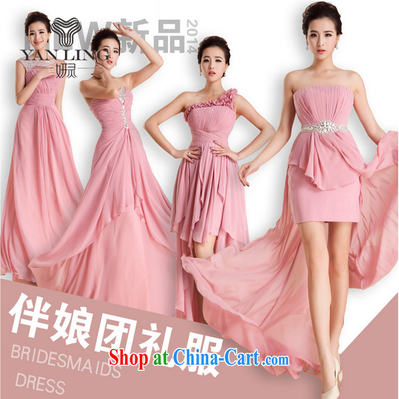 wedding dresses 2015 new dress code the bridesmaid's sister's betrothal wedding annual marriage dress beauty D XL