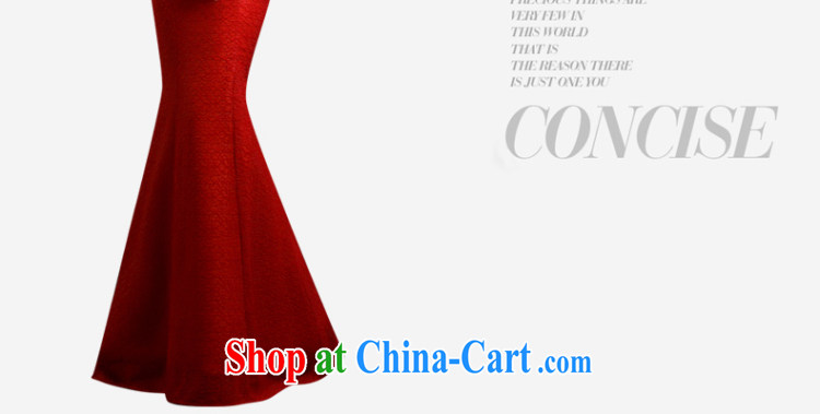 Red wedding dresses bridal toast serving evening dress new 2015 crowsfoot wedding betrothal wedding dress female XXL pictures, price, brand platters! Elections are good character, the national distribution, so why buy now enjoy more preferential! Health