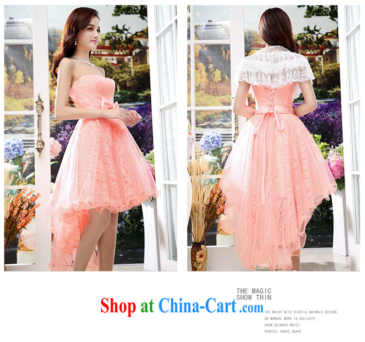 Cover Story 2015 new erase chest dovetail the waist beauty marriage small dress bride with bridal toast the wedding dresses red XL pictures, price, brand platters! Elections are good character, the national distribution, so why buy now enjoy more preferential! Health