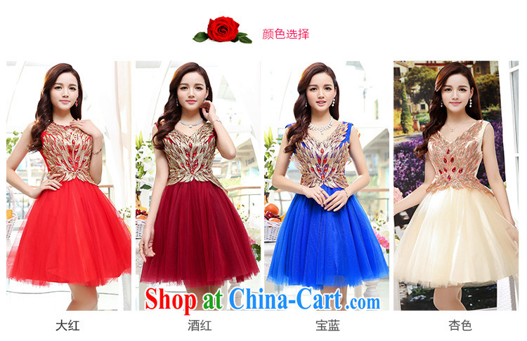 Cover Story 2015 summer elegant lady snow woven embroidery sleeveless dresses dress the skirt with sister bridesmaid clothing bridal load wine red XL pictures, price, brand platters! Elections are good character, the national distribution, so why buy now enjoy more preferential! Health