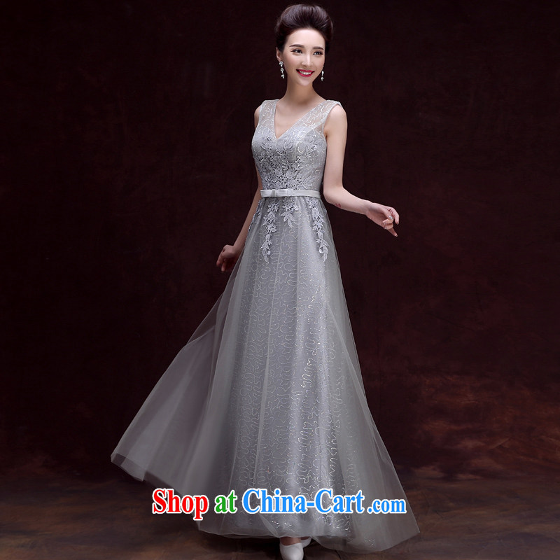 A good service is 2015 new bride toast clothing spring and summer with long bridesmaid sisters served as banquet dress female long XL