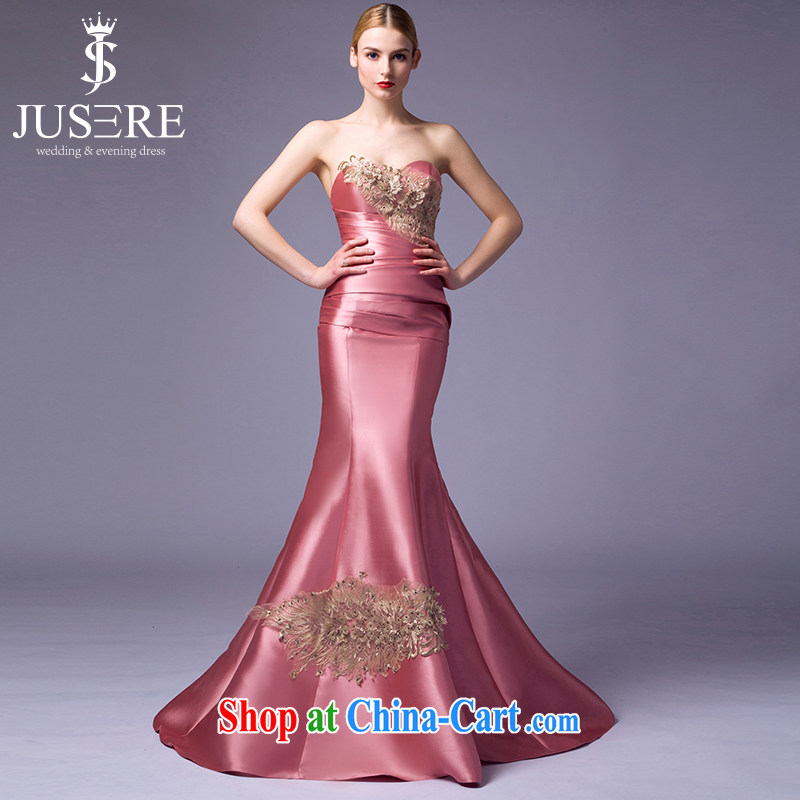 It is the JUSERE high-end wedding dresses spring 2015 new erase chest ?? color bridal crowsfoot dress marriage with dress ?? color 8