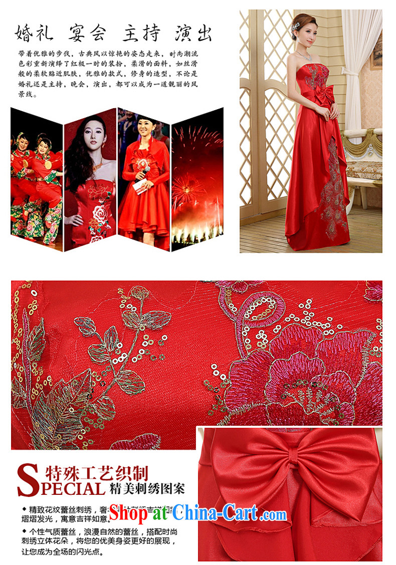 Red wiped his chest pregnant bride toast clothing new spring 2015 ...
