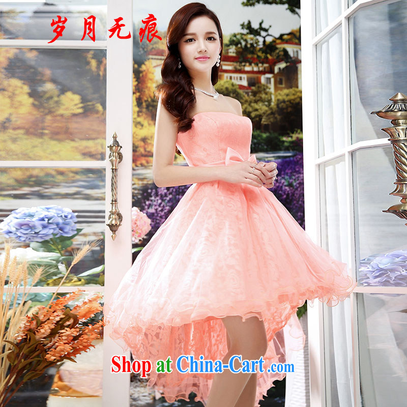 years no scratches bridal gown new summer toast wedding clothes red ...