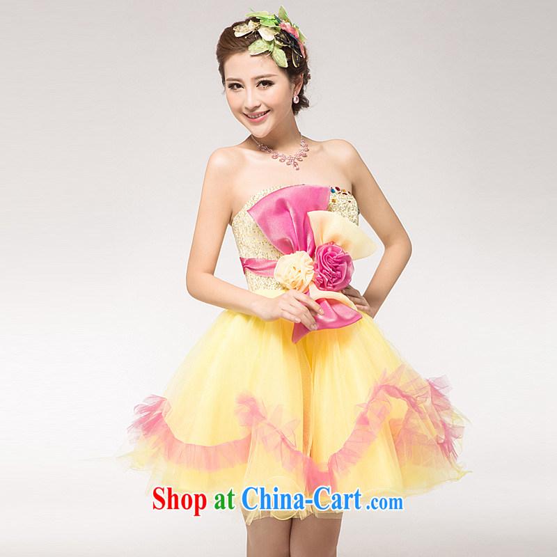 Ho full Chamber new 2015 appearances serving short Korean Princess bride price clothing dresses bridesmaid toast serving serving color XL