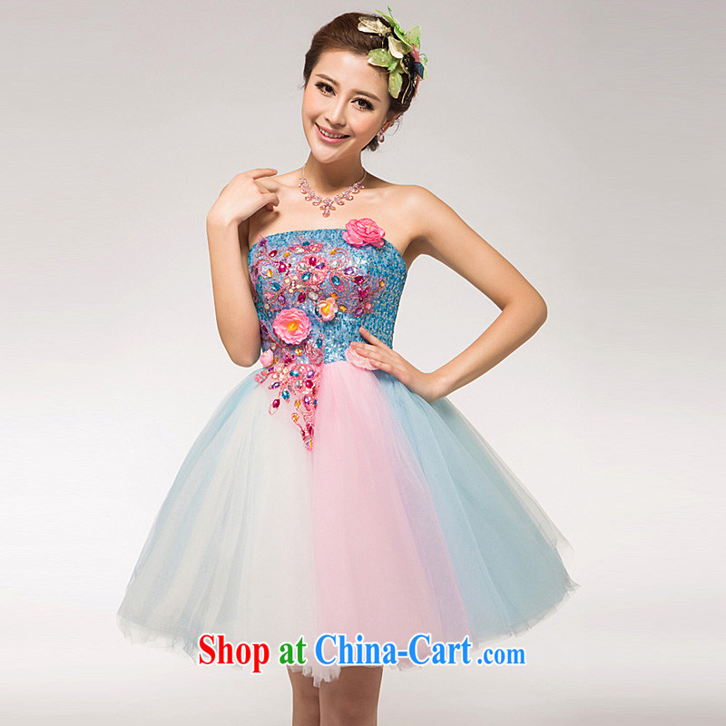 Ho full chamber concert service national costumes makeup wedding verse serving evening dress stage costumes, Jacob Onpress International color XL