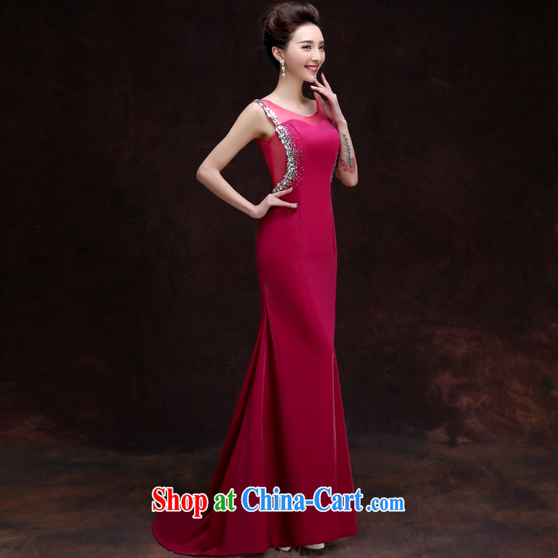 A good service is 2015 new marriages served toast summer long banquet evening dresses, bridesmaid long serving 2 XL