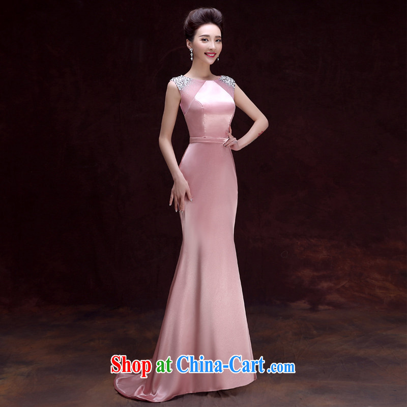 A good service is 2015 new bridesmaid sisters served as marriages served toast dress girls banquet dress dress long XL