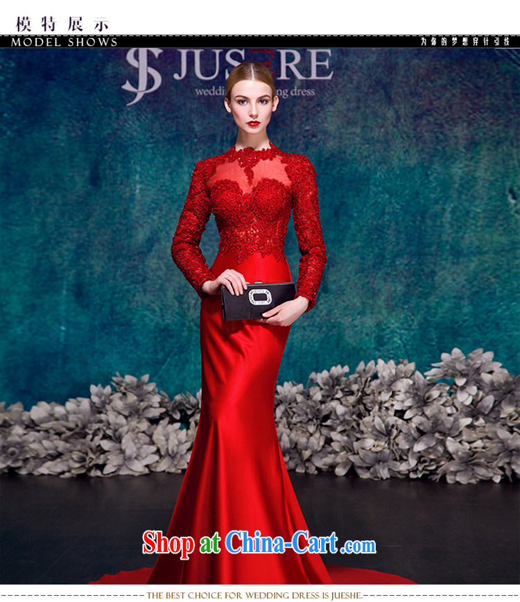It Is Not The JUSERE High End Wedding Dresses 2015 New Festive Chinese Red Name