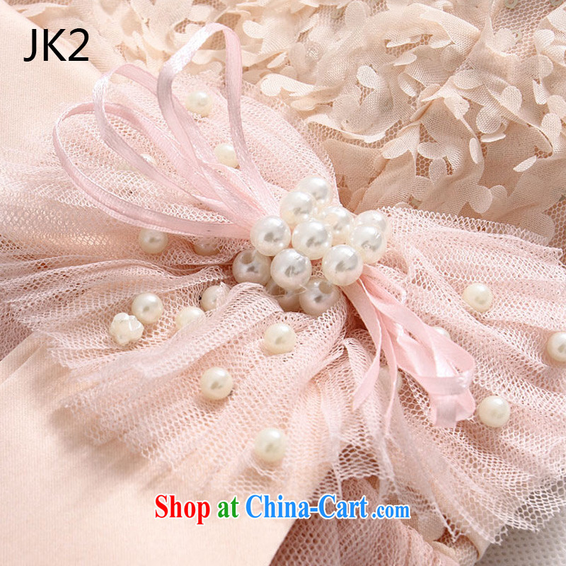 Sweet Lei Silk Dresses and sisters dress show small dress bow-tie the code dress (the invisible) JK 2 9733 white XXXL, JK 2. YY, online shopping