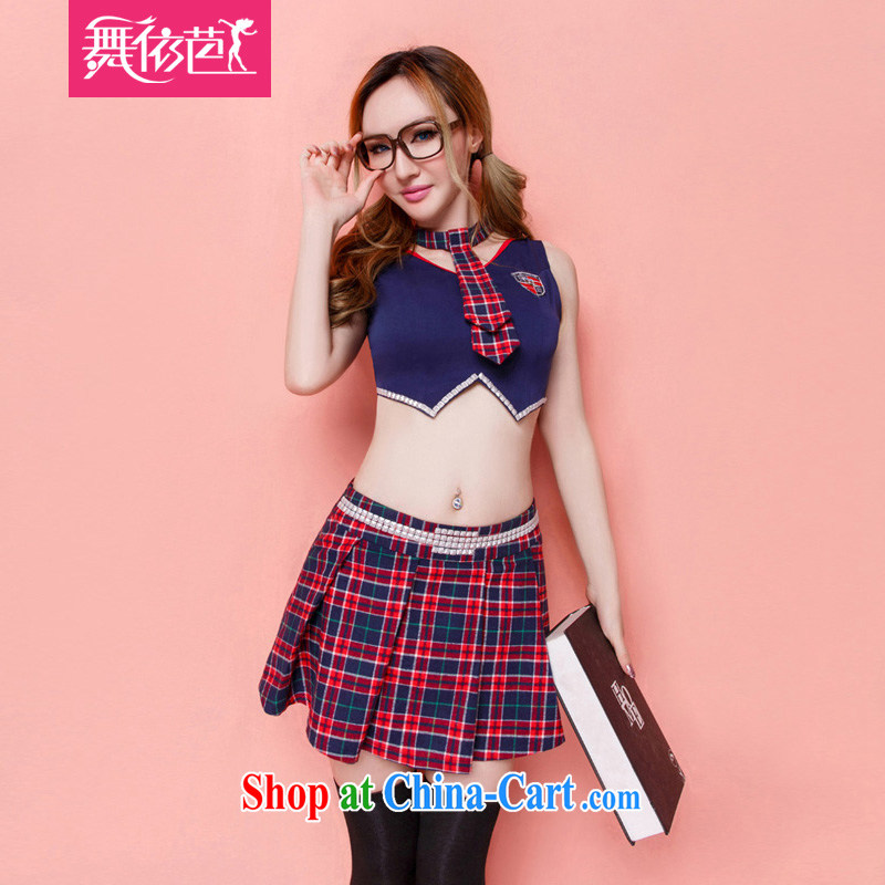 According to dance Hip Hop role-playing student uniforms temptation package sexy Bar Night DS show dancer stage. The black and red L the code