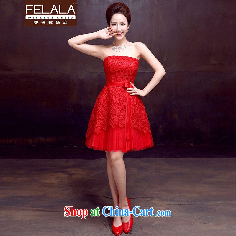Ferrara 2015 summer new sexy lace bare chest strap short dress uniform toast XL