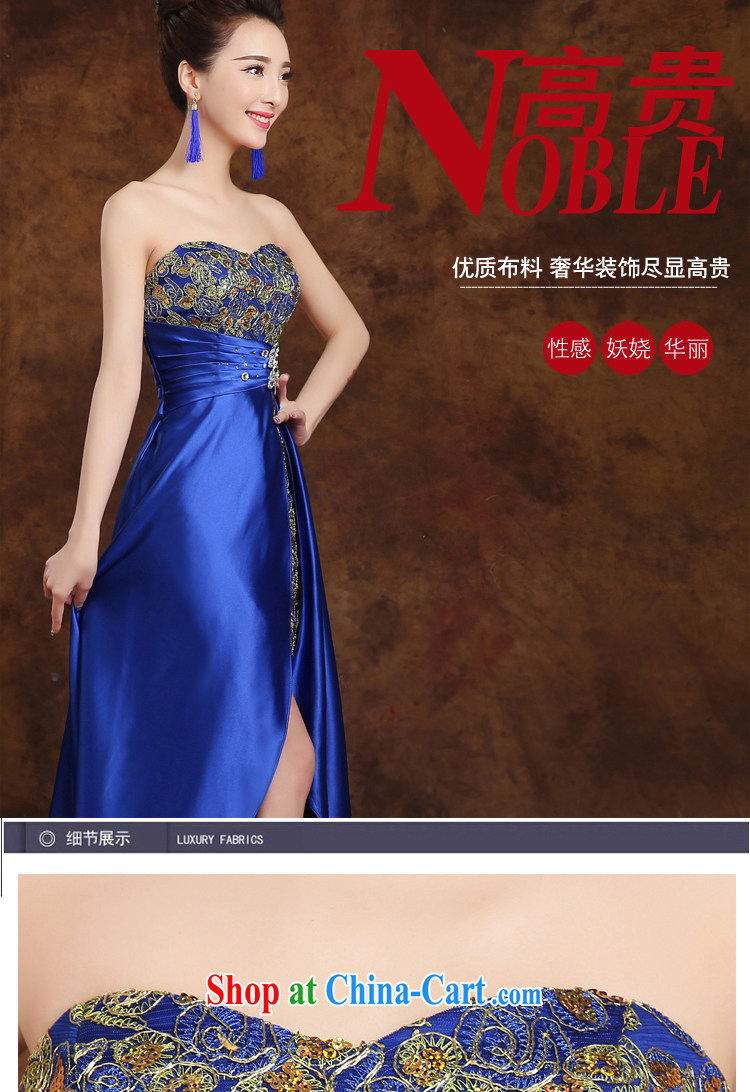 White first to approximately 2015 new toast Service Bridal wedding dress long stylish front short long dress dresses show gold S pictures, price, brand platters! Elections are good character, the national distribution, so why buy now enjoy more preferential! Health