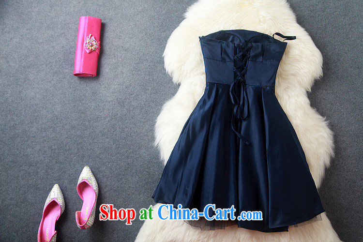 Blue rain bow in accordance with * 2015 yuan a stylish literary Lady style ceremony dress dress dress a field for erase chest dresses T 3148 wine red XL pictures, price, brand platters! Elections are good character, the national distribution, so why buy now enjoy more preferential! Health