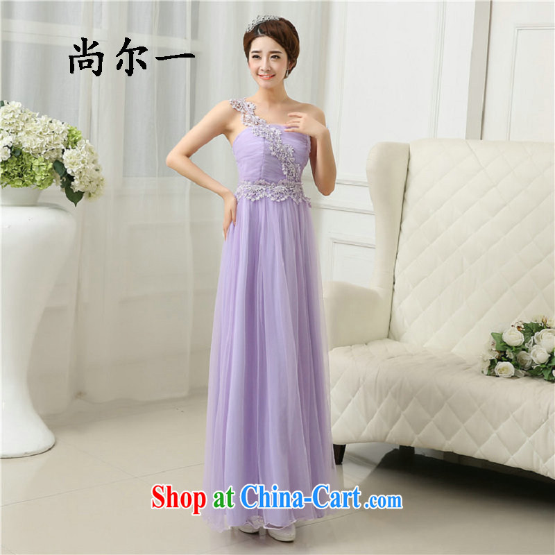 There's a new spring and summer bridesmaid dress wiped his chest bridesmaid sisters served as long bridesmaid 5279 serving light purple