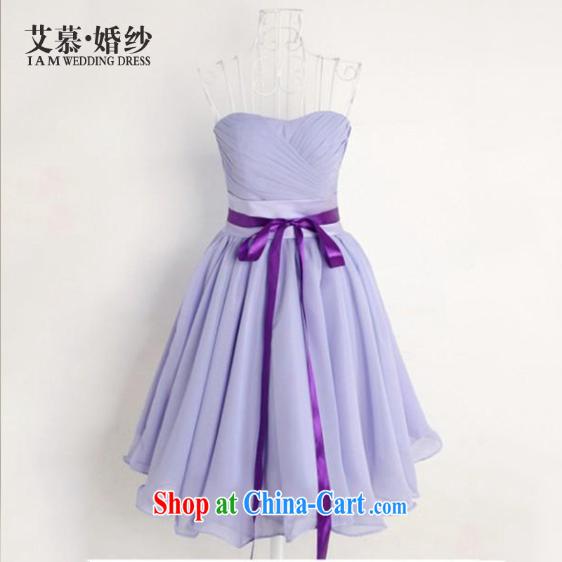 With the 2015 new wedding accompanied by Li Xu Jialu, with bridesmaid dress sister skirt short bows service bridal gown XL