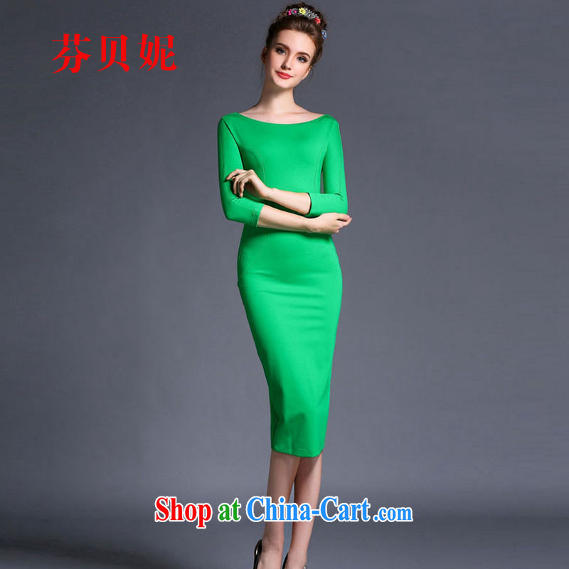 ADDIS ABABA, Connie 2015 summer new Korean version and fashionable dresses in antique long dresses F 1541
