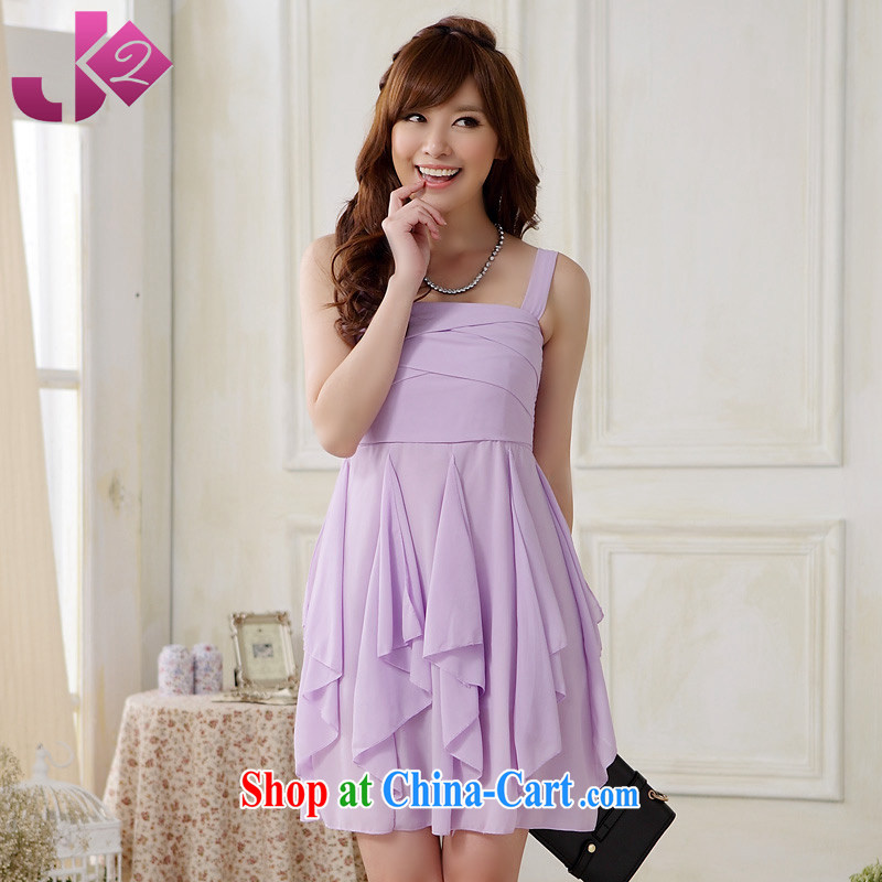 2 JK summer 2015 new 100 Ground Sense of dress skirt straps woven snow is not rules and codes with short skirts as purple are code 90 recommendations about Jack