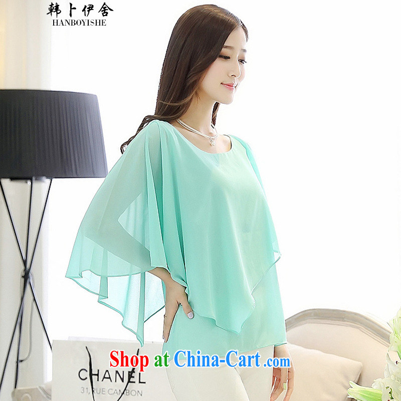 Korea, the Academic Building 2015 summer leave of two part snow woven shirts state 652505120